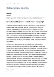 Forårsaker sladderpressen berømthetenes undergang? | Prøve i norsk