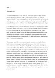 Fahrenheit 451 | Engelsk