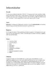 Infusoriekultur   Biologi