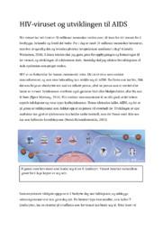 HIV-viruset og utviklingen til AIDS | Biologi