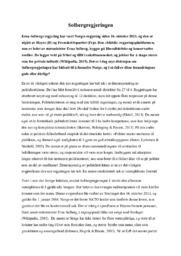 Solbergregjeringen | Analyse
