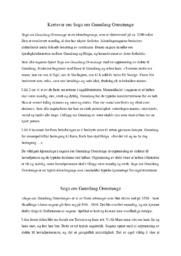 Kortsvar om Soga om Gunnlaug Ormstunge