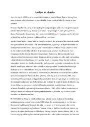 Analyse av Lucie | Norsk