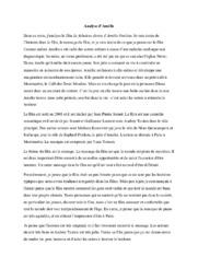 Analyse d'Amélie | Fransk