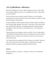 For Trykkefriheten | Analyse