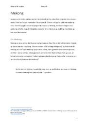 Mekong | Geografisk analyse