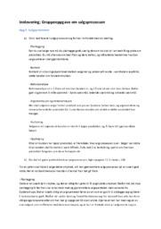 Innlevering; Gruppeoppgave om salgsprosessen