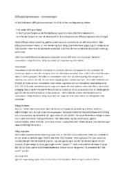 Diffusjonsprosessen – presentasjon | Markedsføring & ledelse