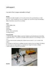 Labrapport | Hva skal til for å stoppe radioaktiv stråling?