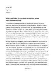 Krigermaskulinitet: en svart-hvitt sak om hvite menns maskulinitetskomplekser
