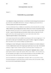 Ridderdiktning og kjærlighet | Norsk