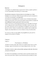 Heldagsprøve | Shit Happens & På trikken
