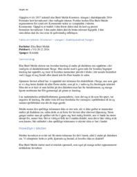 Knoteren – slangen i dialektparadis | Norsk sidemål | Vår 2017