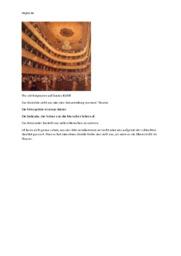 The Old Burgtheater auf Gustav Klimt