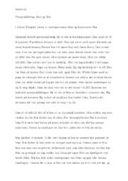 Fengsla | Personskildring Idun og Mai