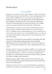 Retorisk analyse «Arv og miljø»