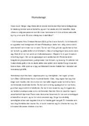 Homoterapi | Norsk