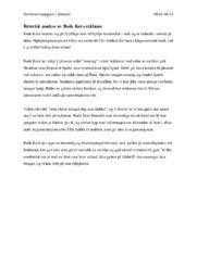 Retorisk analyse av Røde Kors-reklame