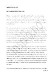 Race Relations in Today's USA | Engelsk Oppgave – Task 2