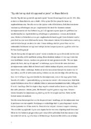 """""""Eg står her og skal slå opp med ei jente"""" av Rune Belsvik   Analyse"""