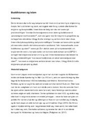 Buddhismen og islam | Religion