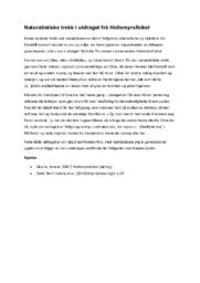 Naturalistiske trekk i utdraget frå Hellemyrsfolket