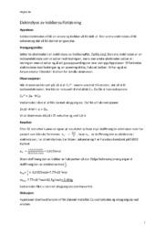 Elektrolyse av kobbersulfatløsning | Kjemi