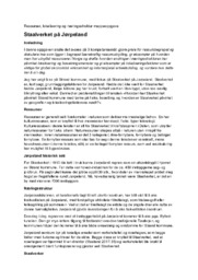 Staalverket på Jørpeland | Ressurser, lokalisering og næringsstruktur