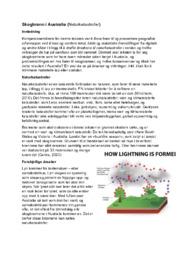 Skogbrann i Australia (Naturkatastrofer)