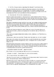 Oppgave om boken Marianela | Spansk