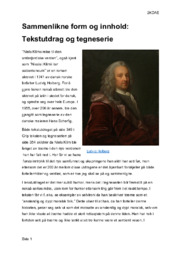 Sammenlikne form & innhold | Niels Klims