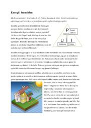 Energi i fremtiden | Innlevering | Energi i fremtiden