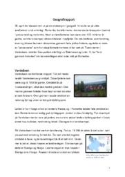 Geografirapport | Landformer