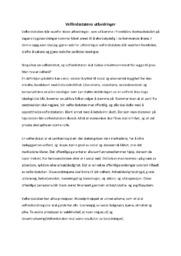 Velferdsstatens utfordringer | Sosialkunnskap