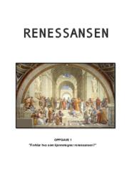 Renessansen | Historieinnlevering