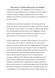 """Dale of Norway"" & ""Mellom bakkar og berg…fant vi Balsfjord"" | Analyse"