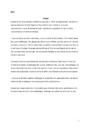 Kortsvar om romanen «fengsla» og analyse av oppslaget