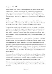Analyse av «Neiden 1970»