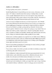 Aftensalme | Analyse