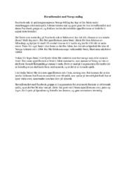 Hovudformålet med Noregs mållag | Kortsvarsoppgave