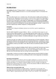 Att döda ett barn & Detalj av usynlig novemberlandskap | Analyse | Norsk