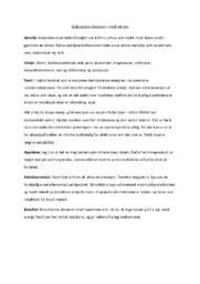 Galvanisk element med sitron | Naturfagsrapport