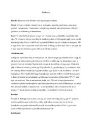 Hudkrem | Naturfagsrapport