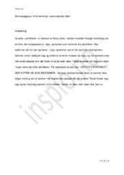 På Trikken | Nina lykke | Analyse