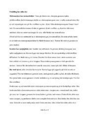 Utskilling hos ulike dyr | Biologi oppgave