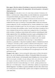 Rotas oppgave | Biologi-drøfteoppgave