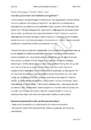 Hvordan praktiserer stormaktene ytringsfrihet? | Oppgave