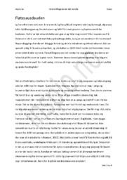 Fløtesausdauden | Essay Nasjonalisme | Norsk