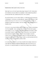 Spøk til side | Ernst Orvil | Analyse