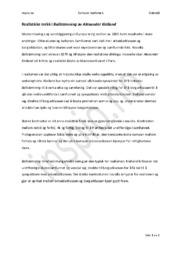 Realistiske trekk i Ballstemning | Alexander Kielland | Analyse